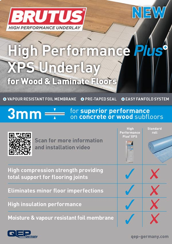 xps-plus underlay 3mm